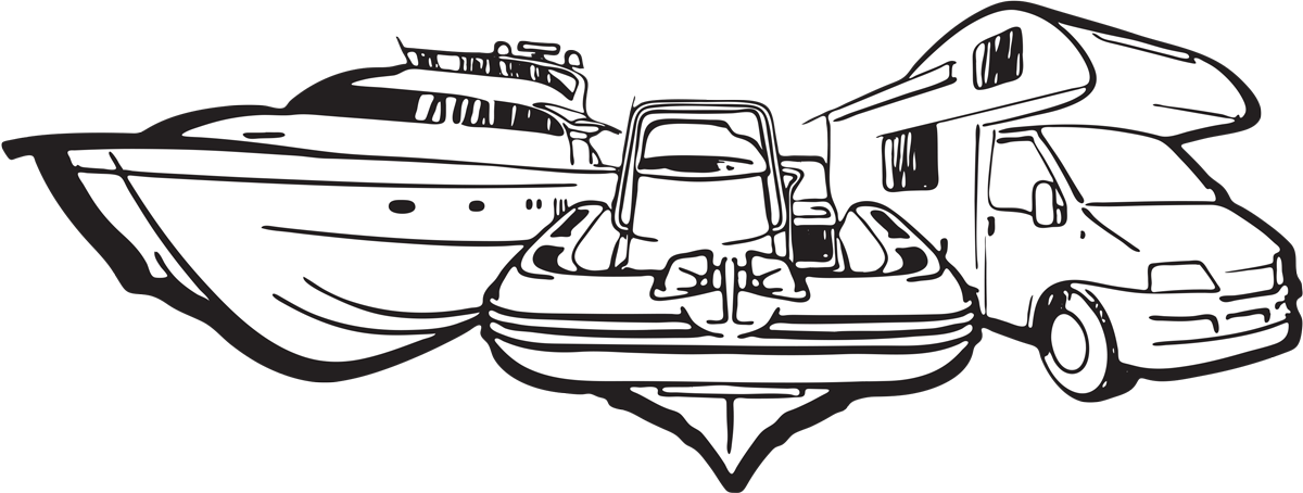 disegno barca-tender-camper