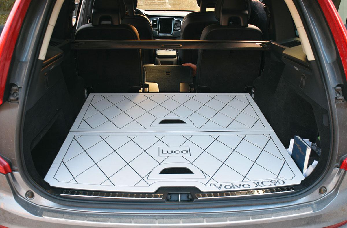 cer-deck tappeto teck sintetico per bagagliaio auto