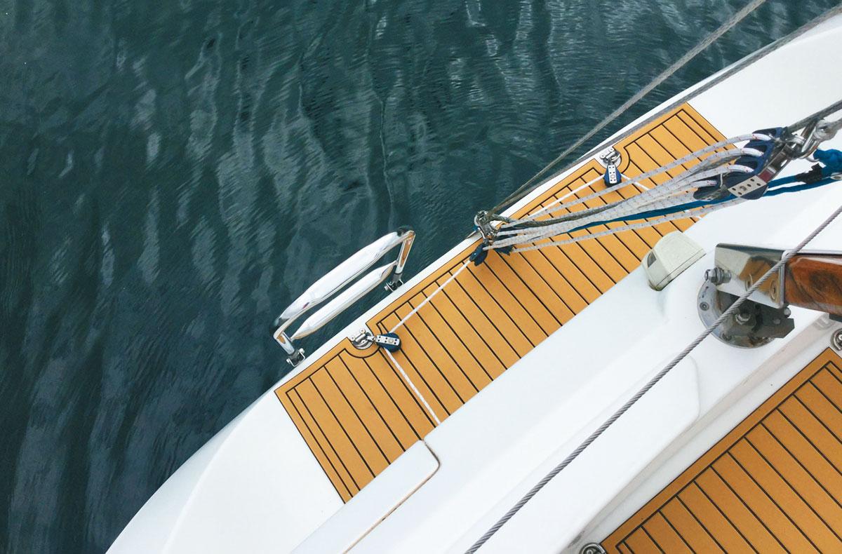 cer-deck tappeto teck sintetico per barche