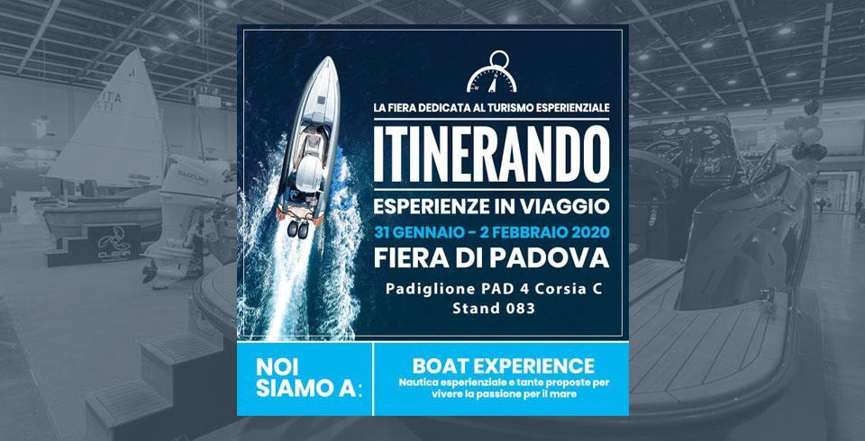 itinerario - fiera di Padova